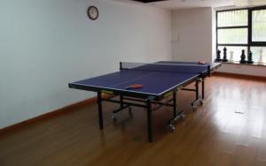 俱乐部课余时间乒乓球活动室