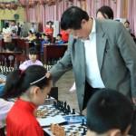 国家大师潘刚老师在对弈中